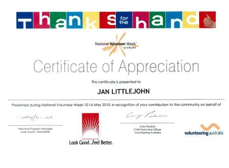 CertificateofAppreciation