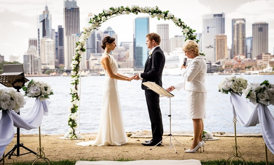 Ceremonies with Style - Christina and Dale Sydney Harbour Wedding