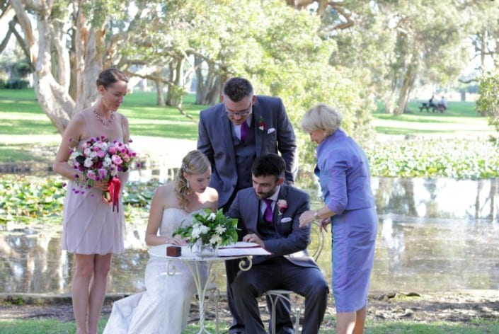 Photo Gallery - Wedding Ceremony Sydney - Jan Littlejohn