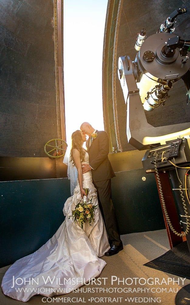 Ceremonies with Style - Tyler & Erin Sydney Observatory Wedding