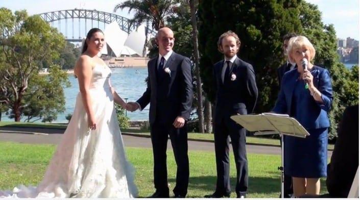 Wedding Ceremonies Sydney - Rebecca and Sam